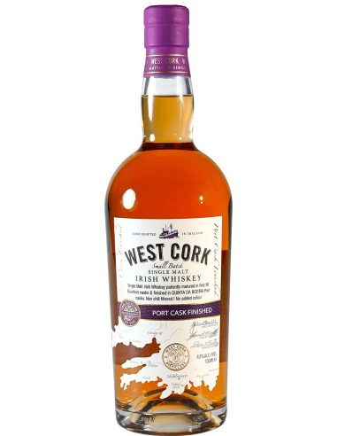 West Cork Single Malt Port Cask Finished